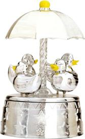 "-,$8803 DUCKIE CAROUSEL  PLAYS ""SINGING IN THE RAIN"""