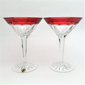 ",MARTINI GLASS, PAIR. 7.4"" TALL. MADE IN IRELAND!"