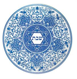 "-11.5"" ROUND CHALLAH TRAY"