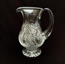 """,FOOTED WATER PITCHER. 8"""" TO LIP. SEAHORSE MARK."""