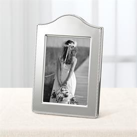 "-5X7"" LYNDON CURVED SILVERPLATE FRAME"