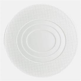 "-ROUND PLATE WITH CONCENTRIC OVAL CENTER. 8.3"" WIDE"