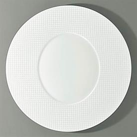 "-ROUND PLATE WITH OVAL CENTER. 10.6"" WIDE"