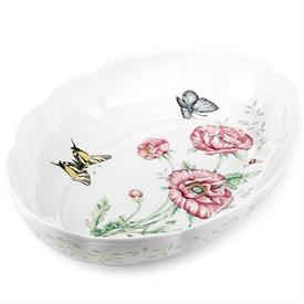 -2 QUART SCALLOPED OVAL BAKER. MSRP $86.00