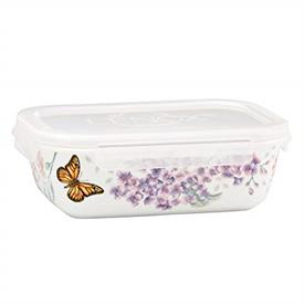 "-7.75"" RECTANGULAR SERVE & STORE CONTAINER. MSRP $43.00"
