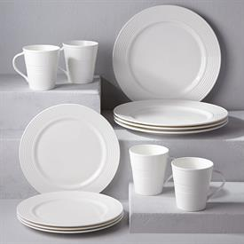 INCLUDES 4 DINNER PLATES 4 ACCENT PLATES & Tin Can Alley Dinnerware by Lenox for sale affordable pricing !