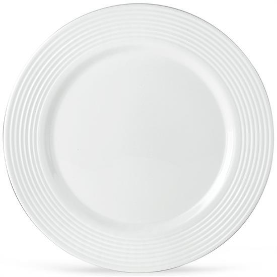 SEVEN DEGREES DINNER PLATE. MSRP $31.00