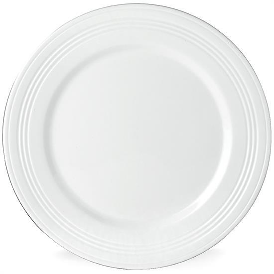 FOUR DEGREES DINNER PLATE. MSRP $31.00