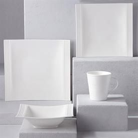 -SQUARE 4 PIECE PLACE SETTING. MSRP $129.00