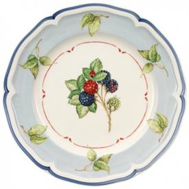 -BLUE LEAF RIM SALAD PLATE