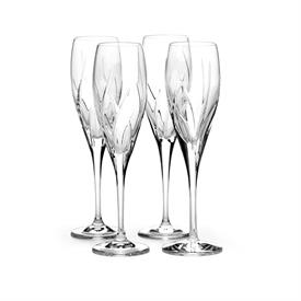 -SET OF 4 FLUTES