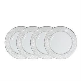 -SET OF 4 DINNER PLATES