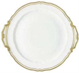 -CAKE PLATE WITH HANDLES