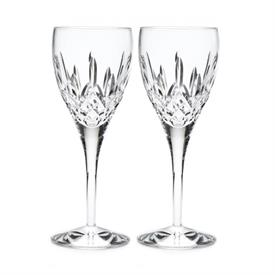 -SET OF 2 WATER GOBLETS