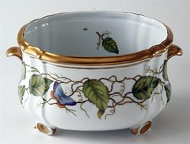 "-LARGE OVAL CACHEPOT. 10.5X8.5"" WIDE"