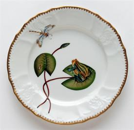 -FROG ON LILY PAD SALAD PLATE.