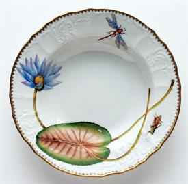-WATERLILY RIM SOUP BOWL.