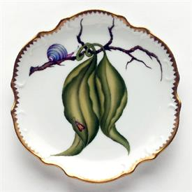 -SNAIL BREAD & BUTTER, HORS D'OEUVRES PLATE. 6.25""