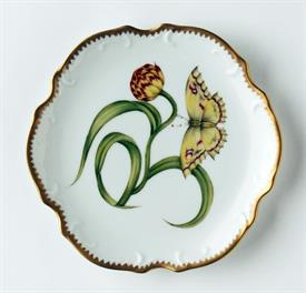 -YELLOW TULIP BREAD & BUTTER PLATE