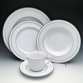 :76P STONELEIGH BY NORITAKE, NEW. 12EA DINNER, SALAD, SOUP, CUP, SAUCER, FRUIT. 1EA PLATTER, VEG BOWL, CREAM, SUGAR
