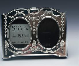 "-1.5""x2"" DOUBLE OVAL FRAME WITH VELVET BACK"