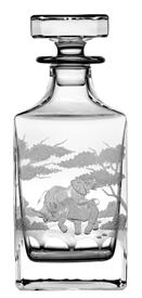 -WHISKEY DECANTER