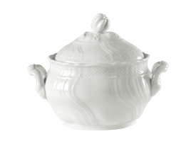 -MEDIUM TEA SUGAR BOWL