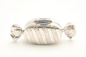 ,_PB-221 CANDY SHAPED PILL BOX STERLING SILVER IMPORTED FROM THAILAND