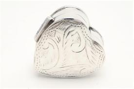 ,_PB-628 HEART ENGRAVED PILLBOX STERLING SILVER IMPORTED FROM THAILAND
