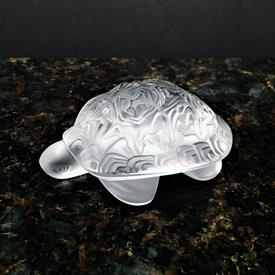 """,TURTLE 'SIDONIE' CLEAR 4""""L STYLE 12138 WITH BOX"""