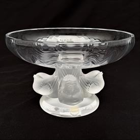 """,""""LE FAUNE"""" #11907. DESIGNED BY MARC LALIQUE IN THE 1950'S. 5.75""""T X 2.5""""W FROM THE MYTHOLOGICAL SERIES, PAN & DIANA DANCING"""