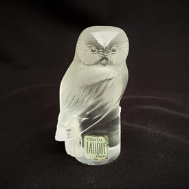 """,'CHOUETTE' OWL PAPERWEIGHT. 3.25"""" TALL"""