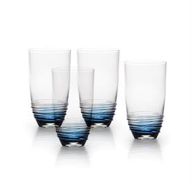 -COBALT HIGHBALL GLASS, SET OF 4