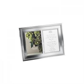 "-5X7"" DOUBLE INVITATION FRAME"