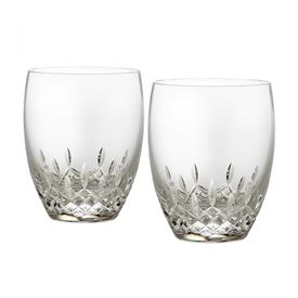 ,-SET OF 2 DOUBLE OLD FASHIONED GLASSES