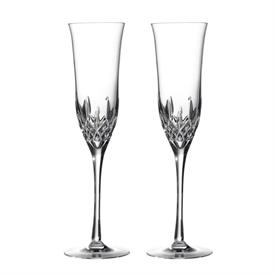 -SET OF 2 CHAMPAGNE FLUTES