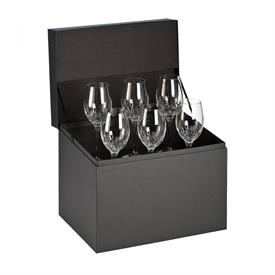 -SET OF 6 WHITE WINE GLASSES