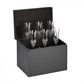 -SET OF 6 CHAMPAGNE FLUTES
