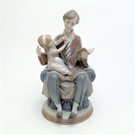 ",5584 'DADDY'S GIRL' FATHER READING TO DAUGHTER FIGURINE WITH ORIGINAL BOX. 8.75"" TALL"
