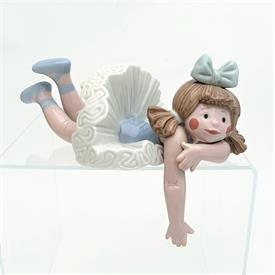 ",1502 'FORGOTTEN' BALLERINA DOLL SHELF SITTER WITH ORIGINAL BOX. 3.5"" TALL"