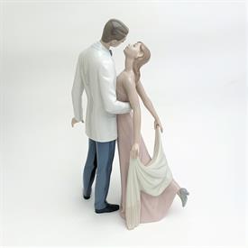 ",6475 'HAPPY ANNIVERSARY' DANCING COUPLE FIGURINE WITH ORIGINAL BOX. 12.5"" TALL"