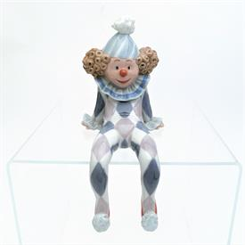 ",1500 'RAGAMUFFIN' SHELF HANGER CLOWN FIGURINE WITH ORIGINAL BOX. 4"" TALL"