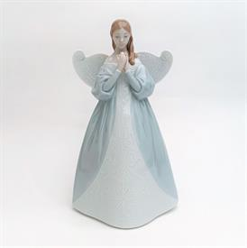 """,6991 'CELESTIAL SCENT' ANGEL WITH FLOWER TREE TOPPER. CA. 2003. 9.2"""" TALL"""