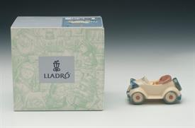 """,6381 """"LITTLE ROADSTER"""" CHRISTMAS ORNAMENT. 1997-1998. 1.5"""" X 3.25"""" WITH ORIGINAL BOX"""