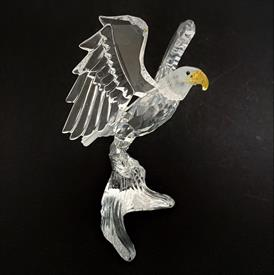 ",'DARANY' EXOTIC FLOWER FROM THE 'CRYSTAL PARADISE COLLECTION' WITH ORIGINAL BOX & COA. 4"" TALL"