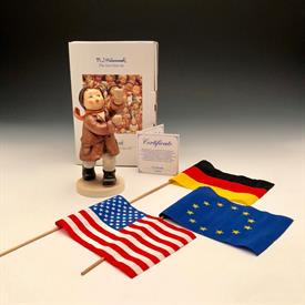 ",739/1 CALL TO GLORY TMK 7 5.75""T ORIGINAL BOX 3 FLAGS"