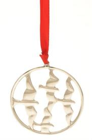 ,FLIGHT MEDALLION-BIRDS STERLING SILVER ORNAMENT