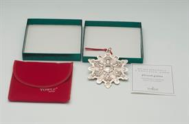 ,2000 OLD MASTER SNOWFLAKE. STERLING SILVER WITH BOX, POUCH & COA. 3.25""