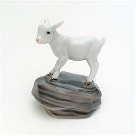 ",4760 KID GOAT ON ROCK. 4"" TALL"