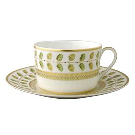 -SET OF 2 BREAKFAST CUPS & SAUCERS